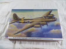Hasegawa 1:72 B-17F Luftwaffe Erprobungskommando Model Kit 00654 SEALED
