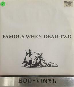 Various - Famous When Dead Two - Triple Vinyl Records House / Deep House / Elec