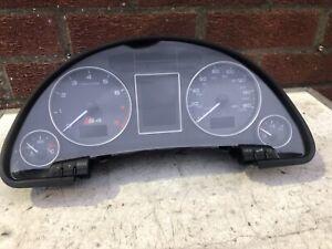 2004 Audi S4 B6 4.2 V8 BBK Auto Speedometer Instrument Cluster 8E0920981F