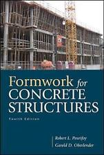 Formwork for Concrete Structures by Oberlender, Garold (Gary) D.|Peurifoy, Rober