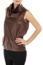 Celine Phoebe Phillo Lamb Leather Vest Jacket Top Nwot 40