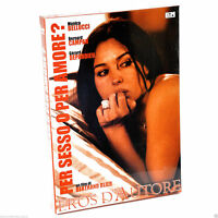 BOX DVD EROTIC HOT MOVIES MONICA BELLUCCI-PER SESSO O X AMORE-FILM EROS D'AUTORE