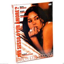1 BOX DVD FILM MONICA BELLUCCI,DEPARDIEU-PER SESSO O X AMORE/COMBIEN TU M'AIMES