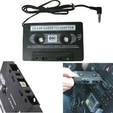 Audio AUX Car Cassette Tape Adapter Converter 3.5 MM for iPhone iPod MP3 CD UK