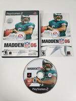 Madden NFL 06 (Sony PlayStation 2 PS2, 2005) Complete w/ Manual