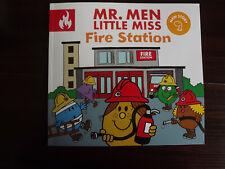 Mr. Men Little Miss Fire Station by Roger Hargreaves Paperback New