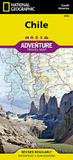Chile Adventure Travel Map National Geographic Waterproof