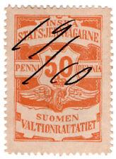 (I.B-CK) Finland Railways : Parcel Stamp 50p (State Railway)