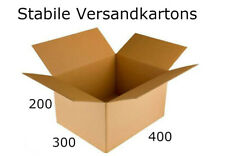 ✅ Ausverkauf : Stabile Faltkartons ✅ 400x300x200 ✅ mm Versandkarton - Einwellig
