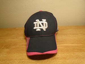 Notre Dame Adidas Women's Breast Cancer Komen S/M Climalite Hat New With Sticker