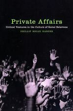PRIVATE AFFAIRS - NEW HARDCOVER BOOK
