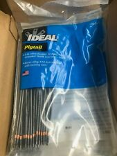 IDEAL 30-3471 Pigtail Wire Connector w/#10 Fork 8 in. 12 AWG ; Box of 250
