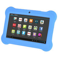 4GB Android 4.4 Wi-Fi Tablet 7 inch Five-Display -Special Kids Edition Blue W3D9