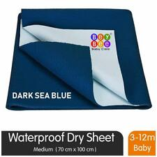 Bey bee Just Dry Bed Protector Baby Mats Waterproof Sheet for Born-vGd