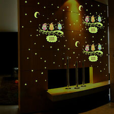 Luminous Scroll Wall Sticker Glow In The Dark Baby Kids Room Home Decor Decal