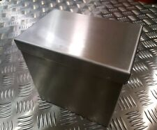 Motorbike ,trike,chopper,streetfighter,custom,car  stainless steel battery box .