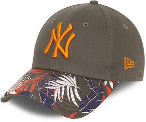 Ny Yankees New Era 940 Kinder Blumenmuster Olive Baseball Kappe (4 - 12 Jahre)