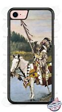 Native American Indian on Horse Phone Case Cover For iPhone Samsung LG Google