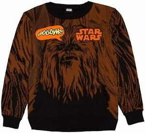 Star Wars Chewbacca Boys' Graphic Sweater, FACTORY SECONDS