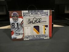 National Treasures NFL All Pros Autograph Jersey Vikings Carl Eller 12/25 2008