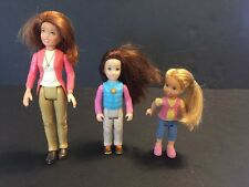 Fisher Price Loving Family Brushable Hair Mom Mother Child Daughter Figure