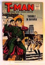 T-MAN #38 Quality 1956 Scarcer Last issue Bavaria NAZI HITLER imitator FN-, 5.5