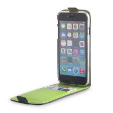 Tasche für Apple iPhone 6 6S Etui Case Hülle Flip Klapp 4,7 Zoll Schwarz Limone