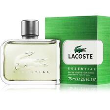 Parfum LACOSTE ESSENTIAL HOMME EDT 75ML Neuf Sous Blister