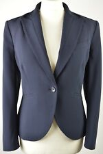 SUPERB women's Jaeger London dark navy blue tailored jacket size 12