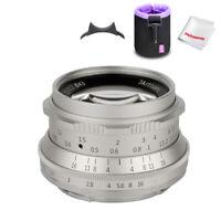 7artisans 35mm F1.2 APS-C Manual Fixed Lens for Mirrorless Fuji X-A1 X-A10 X-A2