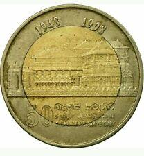 Sri lanka coin Ten Rupee 10LKR-1998