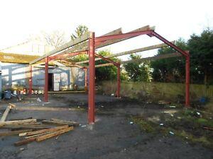 Steel frame building 30x20x12ft