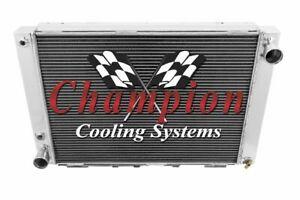 3 Row Ace Champion Radiator for 1964 1965 1966 Ford Thunderbird