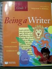 Being a Writer Teacher's Manual Grade 3 Vol. 1 by Developmental Studies Center