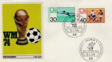 Voetbal envelop: WK Duitsland 1974 / Beker (voet040)