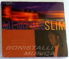 MEMPHIS SLIM - Ft. J.P. AMOROUX - Americans swinging in Paris CD Sigillato