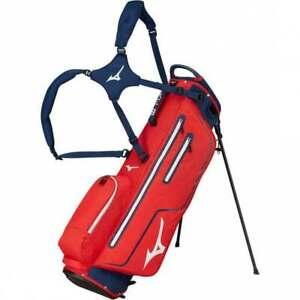 Mizuno Golf K1-LO Lightweight 4 Way Top Dual Strap Stand Bag - Red