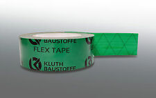 2x grün Klebeband Dampfbremse Dampfsperre Dampfbremsfolie Dampfsperrfolie OSB
