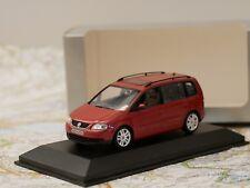 MINICHAMPS VW TOURAN 1/43 RED DEALERS EDITION ART.841902110 NEW DIE-CAST