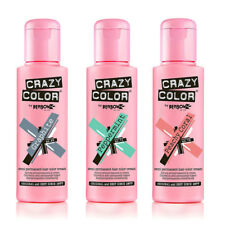 Crazy Color Semi Permanent Hair Color Cream - various colours - Wash in Wash Out