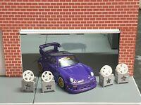 Custom 1:64 Scale Wheel Display Stands Diorama Showroom Hot Wheels Matchbox