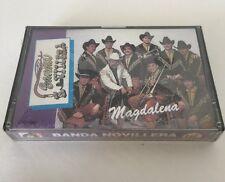 Banda Novillera Magdalena Cassette New