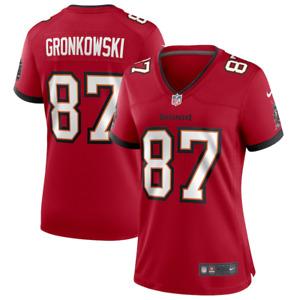 Tampa Bay Buccaneers Jersey Women's Nike Home Jersey - Gronkowski 87 - New