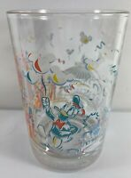 McDonalds Disney World Studios 25th Anniversary Glass Donald Duck
