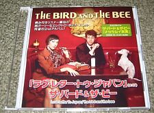 THE BIRD AND THE BEE Japan PROMO ONLY CD acetate LOVE LETTER 1 track OFFICIAL