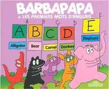Livre Barbapapa et Les Premiers Mots d'Anglais Dragon d'Or Annette Tison ORTF 4