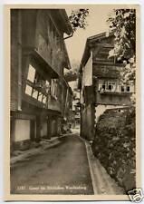 Old Real Photo Postcard Werdenberg Switzerland