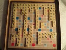 VINTAGE 1960's SCRABBLE MAGNETIC TRAVEL EDITION SELCHOW & RIGHTER COMPLETE