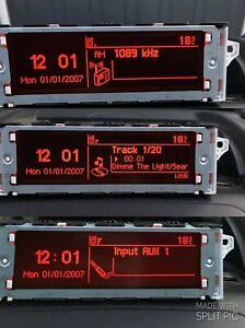 Genuine Peugeot 5008 RD4 Multi-function Display Screen 6 Month WARRANTY 2009-17