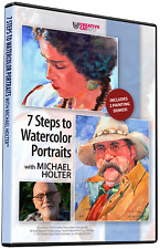 7 STEPS TO WATERCOLOR PORTRAITS WITH MICHAEL HOLTER - Art Education DVD